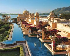 Trabaje en este hotel y vivi en Udaipur durante 1 año, lo extraño a diaro (The Oberoi Hotel in Udaipur, India)