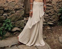 Custom Vintage Lace Burlap ValanceLavander Mint & Gold Sequin | Etsy Maxi Skirt Boho, Bohemian Skirt, Gypsy Skirt, Lace Skirt, Hippie Boho, Shabby Chic Garland, Gothic Fashion, Steampunk Fashion, Emo Fashion
