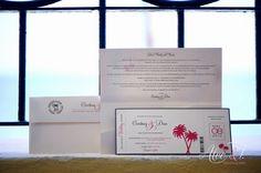 Mexico destination wedding Los Cabos photography By Alec and T..plane ticket invite
