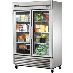 I love the glass front of the fridge... It would be helpful so you could look in the fridge w/out ever opening it.... You'd be able to plan dinner or see if you had somethin w/out letting all the cold air out... Sssooo itz better for the environment!!!