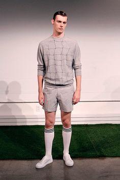 Carlos Campos coleccion primavera verano 2014 New York Fashion Week Men's Apparel, Gq, Sporty, Style, Fashion, Fields, Men's Clothing, Spring Summer, Moda