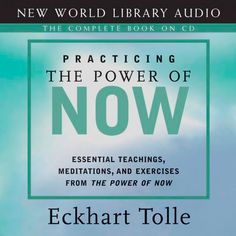 Eckhart Tolle Practicing the Power of Now. ‪#‎EckhartTolle‬ ‪#‎BookReview‬ ‪#‎Isness‬
