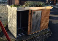 Poubelle -Tonnenhaus für 3 Mülltonnen 240 Liter, freistehend