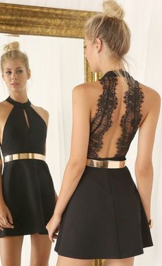 Little Black Dress Fit And Flare Tight Dress Bollywood