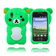 Cute Bear (Grønn) Samsung Galaxy Ace Deksel