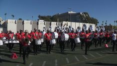 We get a sneak peek at the Santa Monica rehearsal of the Florida Agricultural and Mechanical University's world famous Marching 100 band, one of the bands participating in the Rose Parade presented by Honda. 100 Bands, World Famous, Santa Monica, All Things, The 100, Rose, Pink, Roses