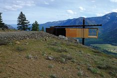 Flagg Mountain Hut. 2012. Methow Valley, Washington. Tom Kundig, Olson Kundig Architects.