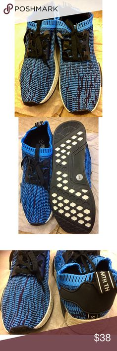 Blue Black and white Sneakers Very cute brand new perfect for Christmas gift birthday or any other special day!  bundle and save! No lowballing no trade no paypal Red Black and white Sneakers Shoes
