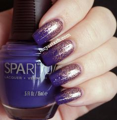 Lucy's Stash - SpaRitual Gradient manicure with Illume, Knowledge and Clarity