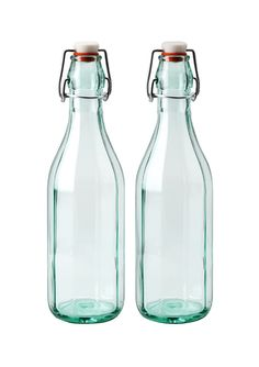 GLOBAL AMICI  2-Piece Faceted Hermetic Bottle Set