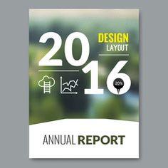 Cover Magazine design template. Beautiful annual report business design nature background. vector illustration