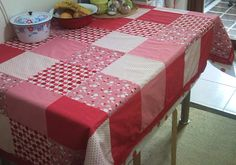 patchwork tablecloth by begumaysun, via Flickr