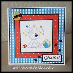 Randis hobbyverden: Bursdagskort til barn