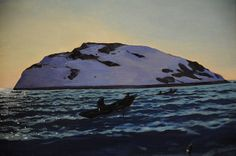 'Afternoon on the Sea, Monhegan,' 1907; Rockwell Kent, 1882-1971; oil on canvas; de Young Museum, San Francisco, California, U.S.A.