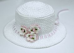 http://www.craft-craft.net/crafts-for-summer-crochet-hat-patterns-kids-craft-ideas.html