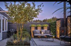 Outdoor Living Rooms, Outside Living, Garden Design Plans, Small Garden Design, Modern Landscaping, Outdoor Landscaping, Back Gardens, Outdoor Gardens, Meditation Garden