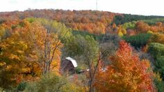 Fall Farm Scenery