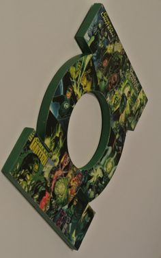 Green Lantern Wall Plaque made to order by helloskywalker on Etsy