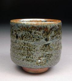 Handmade Stoneware Yunomi Tea Cup glazed with Ash by shyrabbit, $40.00