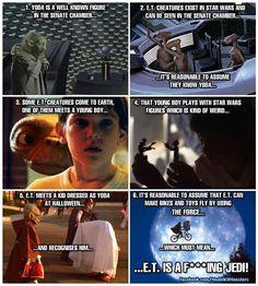 E.T. is a Jedi !