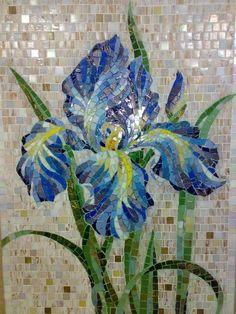 Mosaic Tray, Mosaic Wall, Mosaic Glass, Mosaic Tiles, Glass Art, Mosaics, Mosaic Crafts, Mosaic Projects, Stained Glass Projects