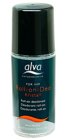 Alva For Him Crystal Deo Roll-On