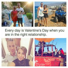 Everyday is valentines day when you are in the right relationship. #love #relationships #life #adventure #valentines