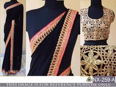 de30eb0c91 INDIAN DESIGNER PARTY WEAR SAREE WEDDING BRIDAL STYLISH TRADITIONAL SARI NX  #Unbranded Designer Sarees Wedding