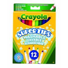 BARGAIN Crayola Supertips Washable – Pack of 1 JUST £1.50 At Amazon - Gratisfaction UK Flash Bargains #flashbargains #gratkids