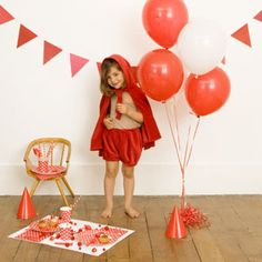 anniversaire enfant pois rouges - my little day http://www.thelittlefactory.fr/my-little-day.htm