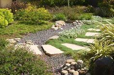Stone Garden Path  Walkway and Path  Jay Thayer Landscape Architect  San Francisco, CA