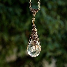 Hobbit inspired pendant  Arkenstone Heart of by ThirdWindStudio, $32.95