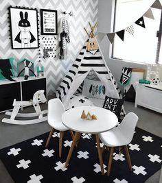 @decomagblog Chambres enfants thème noir