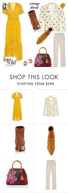 """Daisy Chain"" by peeweevaaz ❤ liked on Polyvore featuring Ulla Johnson, Giambattista Valli, TIBI, Maison Margiela, Khaite, Anja, dress, polyvoreeditorial and polyvorefashion"