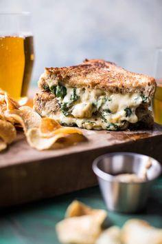 Irish Pub Spinach and Artichoke Melt   halfbakedharvest.com @hbharvest