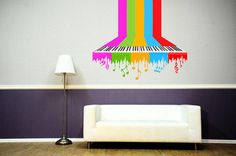 Full color Wall Decal Vinyl Sticker Decals by CreativeWallDecals