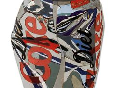 Title: Diet Coke Can111--Diederick Kraaijeveld Made from reclaimed wood