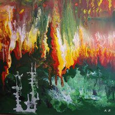 Acryl auf Leinwand: #acrylpainting #painter #malerei #painting #modernart #artgallery #canvasart