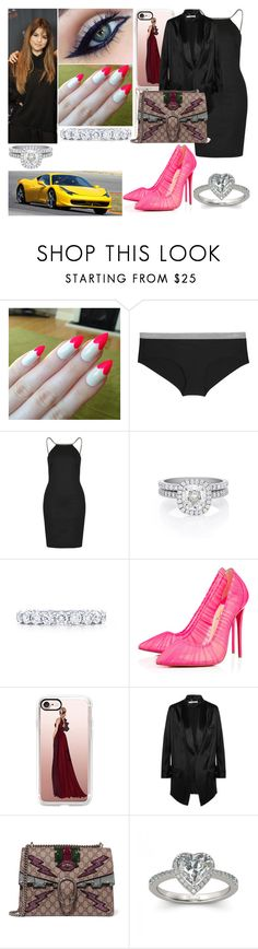 """Jeudi 23 Février 2017 Soir (20H)"" by laurie-2109 ❤ liked on Polyvore featuring Ferrari, Calvin Klein Underwear, Topshop, De Beers, Tiffany & Co., Aroma, Christian Louboutin, Casetify, Givenchy and Gucci"