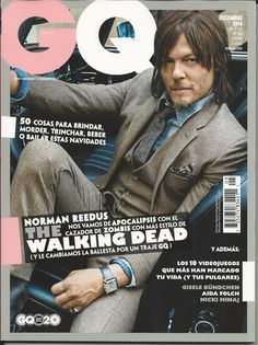 GQ magazine with Norman Reedus