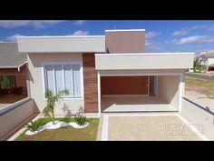 Modern Small House Design, House Design Photos, Affordable House Plans, Home Design Decor, Flat Roof, Small House Plans, My House, Floor Plans, Villa