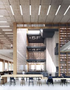 Longhua Art Museum And Library - Picture gallery #architecture #interiordesign #museum #library