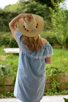 DIY Off-Shoulder Kleid