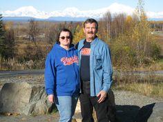 Mom n Dad in Alaska