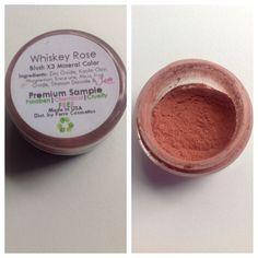 Ferro cosmetics mineral blush in whiskey rose. Brand new unused $4