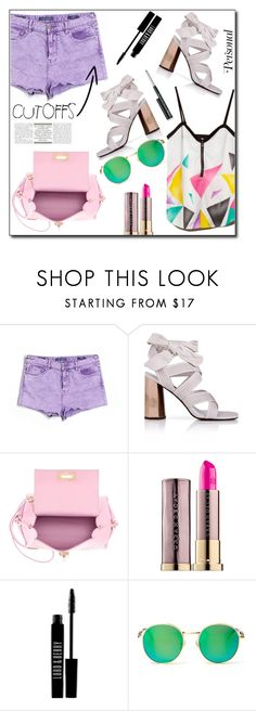 """Denim shorts"" by dorinela-hamamci ❤ liked on Polyvore featuring Vigoss, Senso, Roxy, Salvatore Ferragamo, Urban Decay, Lord & Berry, Wildfox and Clinique"