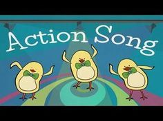 """Our """"Action Song for Kids"""" is a funky and bouncy dance tune that introduces the action verbs """"clap"""", """"stomp"""", """"swing"""", """"dance"""", """"sing"""", jump"""", """"touch"""", and """"..."""