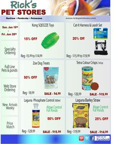 Lots of savings for every animal lover!