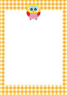 GRÁTIS FOLHA DE PAPEL RECADO E ORÇAMENTO Album, Harley Davidson, Manicure, Stationery, Clip Art, Scrapbook, Owl Themes, Sewing, Frames