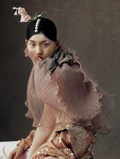 """The Peking Opera"" for Harper's Bazaar China May 2016, photographed by Wangy Xin Yu"